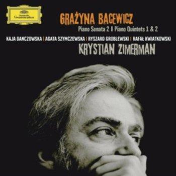 II Sonata Fortepianowa Kwintety Fortepianowe I & II-Zimerman Krystian