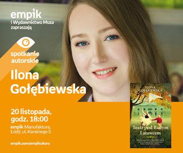 Ilona Gołębiewska   Empik Manufaktura