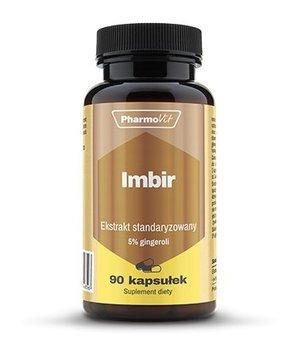 Imbir standaryzowany 400 mg, 90 kapsułek, Pharmovit-Pharmovit