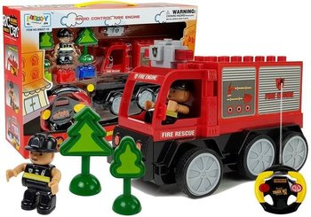 Import LEANToys, auto zdalnie sterowane Wóz Strażacki-Lean Toys