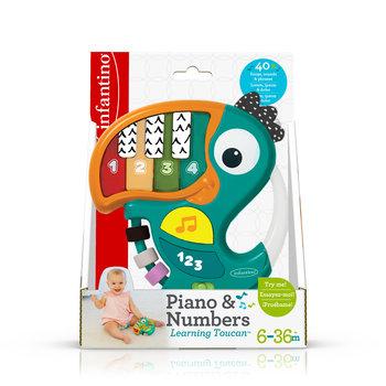 Infantino, zabawka interaktywna Pianinko Tukan-Infantino