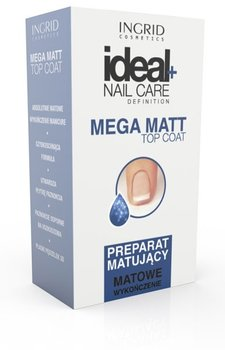 Ingrid, Ideal Nail Care, preparat matujący do paznokci Mega Matt, 7 ml - Ingrid