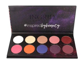 Ingrid, Matt and Glam, paleta cieni do powiek Colors, 27 g - Ingrid