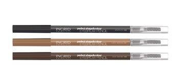 Ingrid, Perfect Shape & Colour, kredka do brwi 102 Graphite-Ingrid