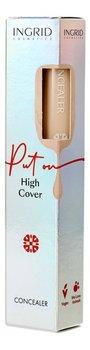 Ingrid Vegan High Cover Korektor w płynie 01 7ml-Ingrid