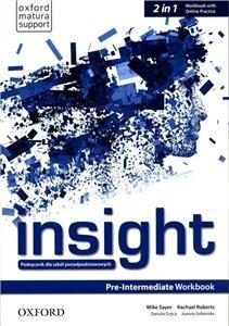 Insight. Pre-Intermediate. Workbook + Online Practice-Opracowanie zbiorowe