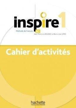 Inspire 1. Ćwiczenia + audio online-Le Bougnec Jean-Thierry, Malcor Lucas, Lopes Marie-Jose, Marchandeau Claire