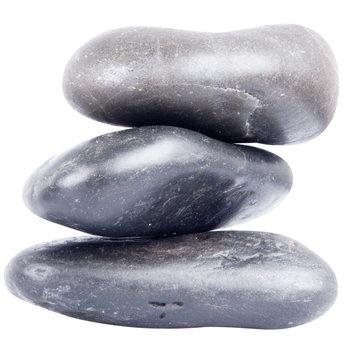 inSPORTline, Kamienie bazaltowe do masażu z lawy wulkanicznej River Stone, 10-12 cm, 3 szt.-inSPORTline