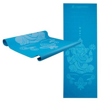 inSPORTline, Mata do ćwiczeń, Spirit, 172x61 cm, niebieski-inSPORTline