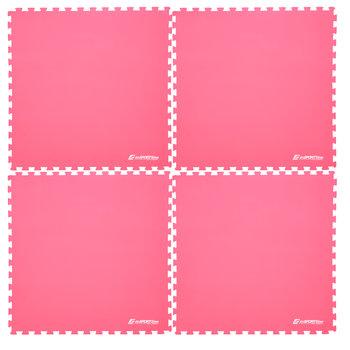 inSPORTline, Mata fitness, EVA 40, 200x200 cm, czerwona-inSPORTline