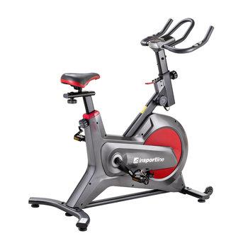 inSPORTline, Spinningowy rower treningowy, Agneto LCD, szary-inSPORTline