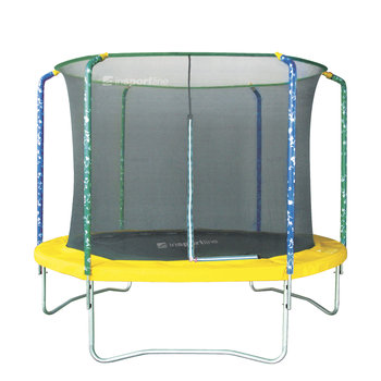 InSPORTline, trampolina Sun z siatką ochronną, 366 cm