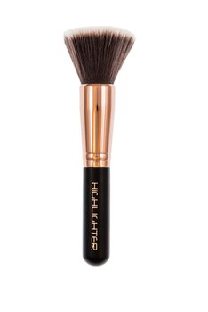 Inter Vion, Make-Up Brush, pędzel do rozświetlacza i bronzera Rose Gold, 1 szt.-Inter Vion
