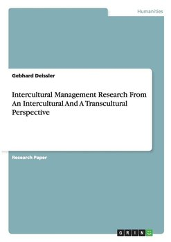 Intercultural Management Research From An Intercultural And A Transcultural Perspective-Deissler Gebhard