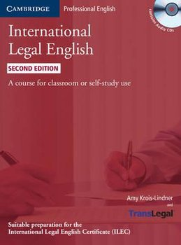 International Legal English. Student's Book + CD - Krois-Lindner Amy