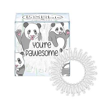 Invisibobble, Original, gumki do włosów You're Pawesome, 3 szt.-Invisibobble