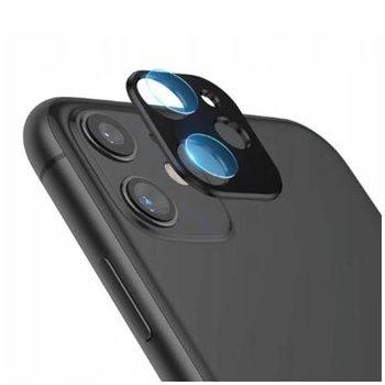 iPhone 11 Hartowane szkło na Tylny aparat z ramką Alu-EtuiStudio