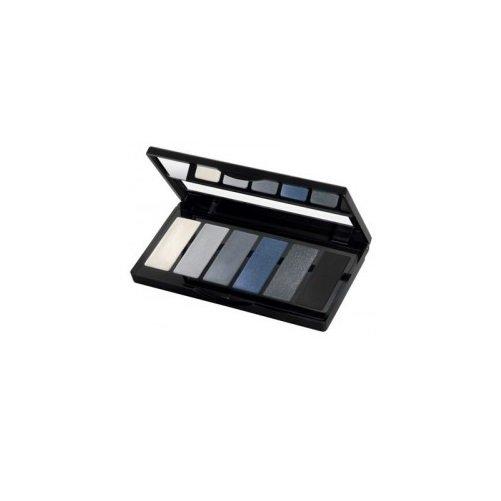 Isadora, Eye Color Bar, paleta cieni do powiek 64 Grey Temptation, 3 g