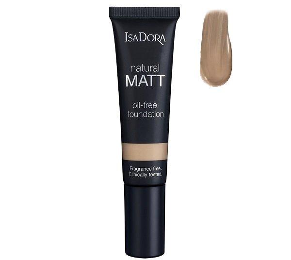 Isadora, Natural Matt, podkład matujący 16 Matt Cream, 35 ml