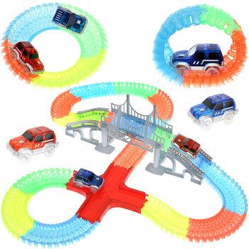 Iso Trade, tor samochodowy świecący, zestaw-Iso Trade