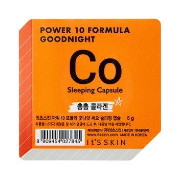 It's Skin, Power 10 Formula Good Night Sleeping Capsule CO, dwufazowa maseczka całonocna w kapsułce, 5 g-It's Skin
