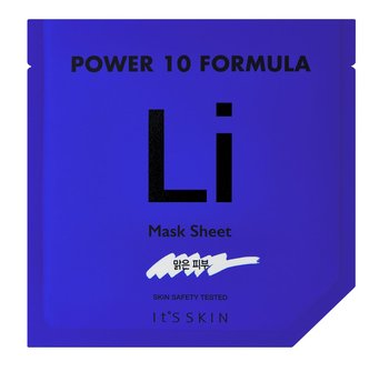 It's Skin, Power 10 Formula Mask Sheet LI, łagodząca maska w płachcie, 25 ml-It's Skin