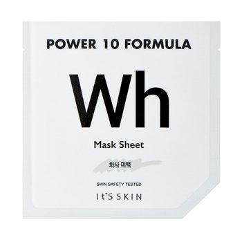 It's Skin, Power 10 Formula Mask Sheet WH, rozjaśniająca maska w płachcie z arbutyną, 25 ml-It's Skin