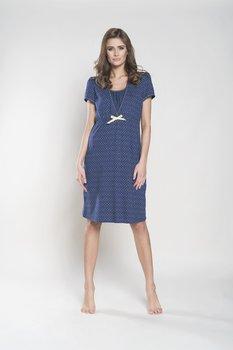 db0f8353650f8d Italian Fashion, Tulia, Koszula nocna dla matek karmiących, krótki ...
