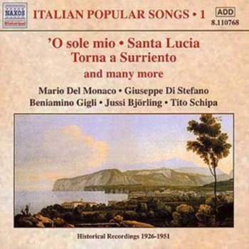 Italian Popular Songs Vol.1-Gigli Beniamino