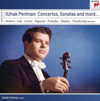 Itzhak Perlman plays Concertos and Sonatas-Perlman Itzhak