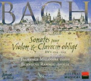 J.S. Bach: Sonates pour Violon & Clavecin obligé, BMW 1014 - 1019-Malgoire Florence, Rannou Blandine