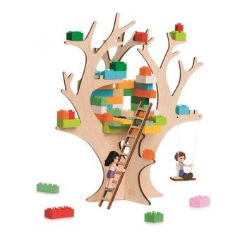JaBaDaBaDo, klocki domek na drzewie Brikkon, zestaw-JaBaDaBaDo