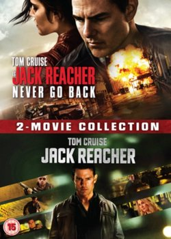 Jack Reacher: 2-Movie Collection (brak polskiej wersji językowej)-McQuarrie Christopher, Zwick Edward