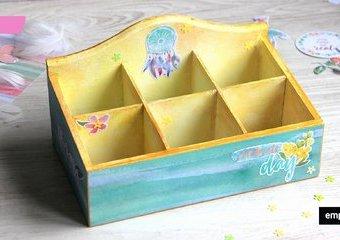 Jak ozdobić pudełko na herbatę?