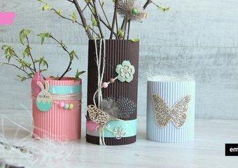 Jak zrobić wazon ze słoika - poznaj prosty sposób na wiosenną dekorację