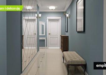 Jak rozjaśnić wąski korytarz? 5 sposobów na ciemny przedpokój!
