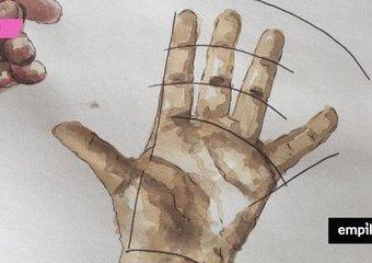 Jak rysować dłonie – najtrudniejszą część ciała?