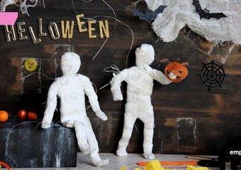 Jak zrobić figurkę mumii – pomysłowy gadżet  na Halloween