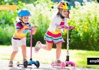 Jaką hulajnogę dla dziecka wybrać? Przegląd polecanych hulajnóg dziecięcych
