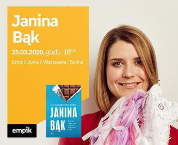 Odwołane: Janina Bąk | Empik Junior / Scena