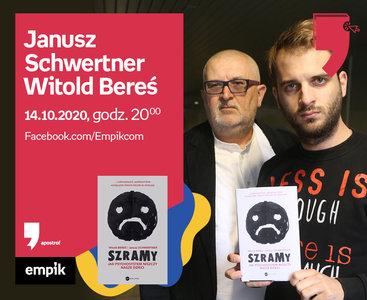 Janusz Schwertner, Witold Bereś – Spotkanie | Wirtualne Targi Książki. Apostrof