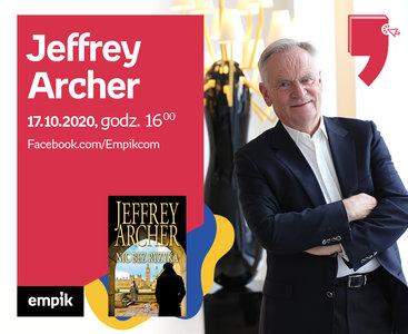 Jeffrey Archer– Premiera   Wirtualne Targi Książki