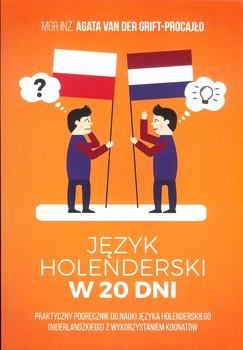Język Holenderski W 20 Dni Van Der Grift Procajło Agata Książka