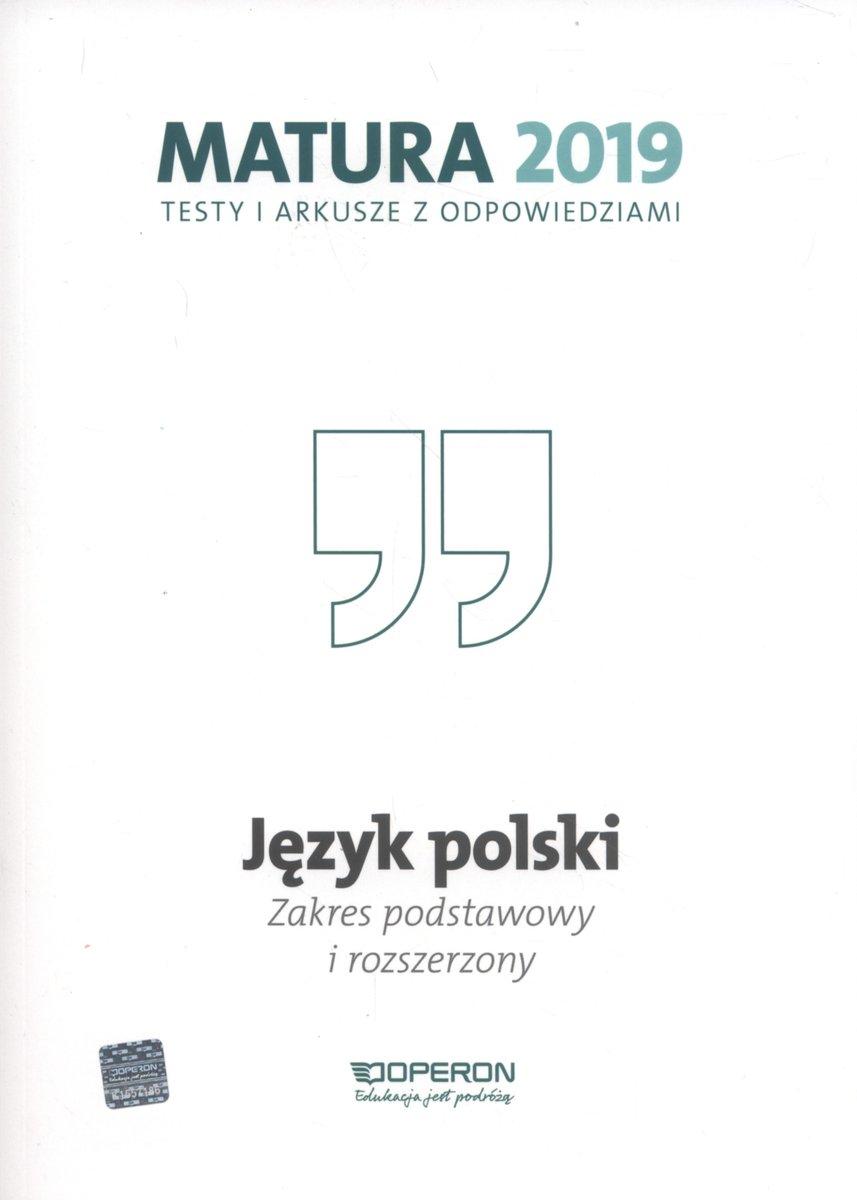 Język Polski Matura 2019 Testy I Arkusze Zakres Podstawowy I