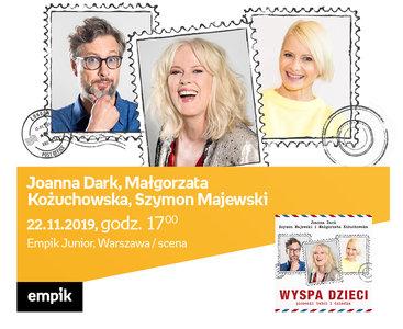 Joanna Dark, Małgorzata Kożuchowska, Szymon Majewski | Empik Junior / scena
