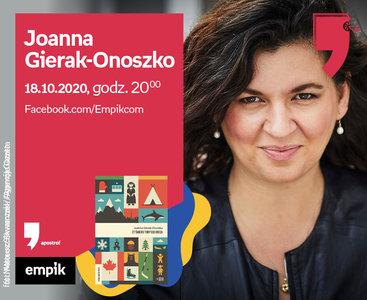 Joanna Gierak-Onoszko – Spotkanie | Wirtualne Targi Książki