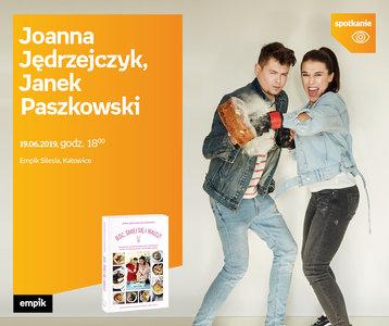 Joanna Jędrzejczyk, Janek Paszkowski | Empik Silesia