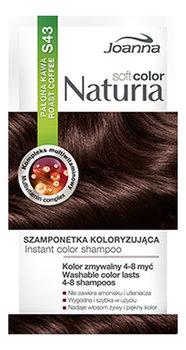 Joanna, Naturia Soft Color, szamponetka koloryzująca S43 Palona Kawa, 35 g-Joanna