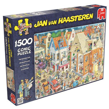 Jumbo, Jan Van Haasteren, puzzle Plac budowy-Jumbo