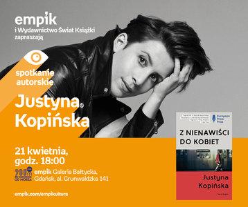 Justyna Kopińska   Empik Galeria Bałtycka